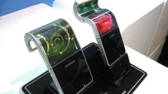 Samsung планирует выпустить гибкий смартфон