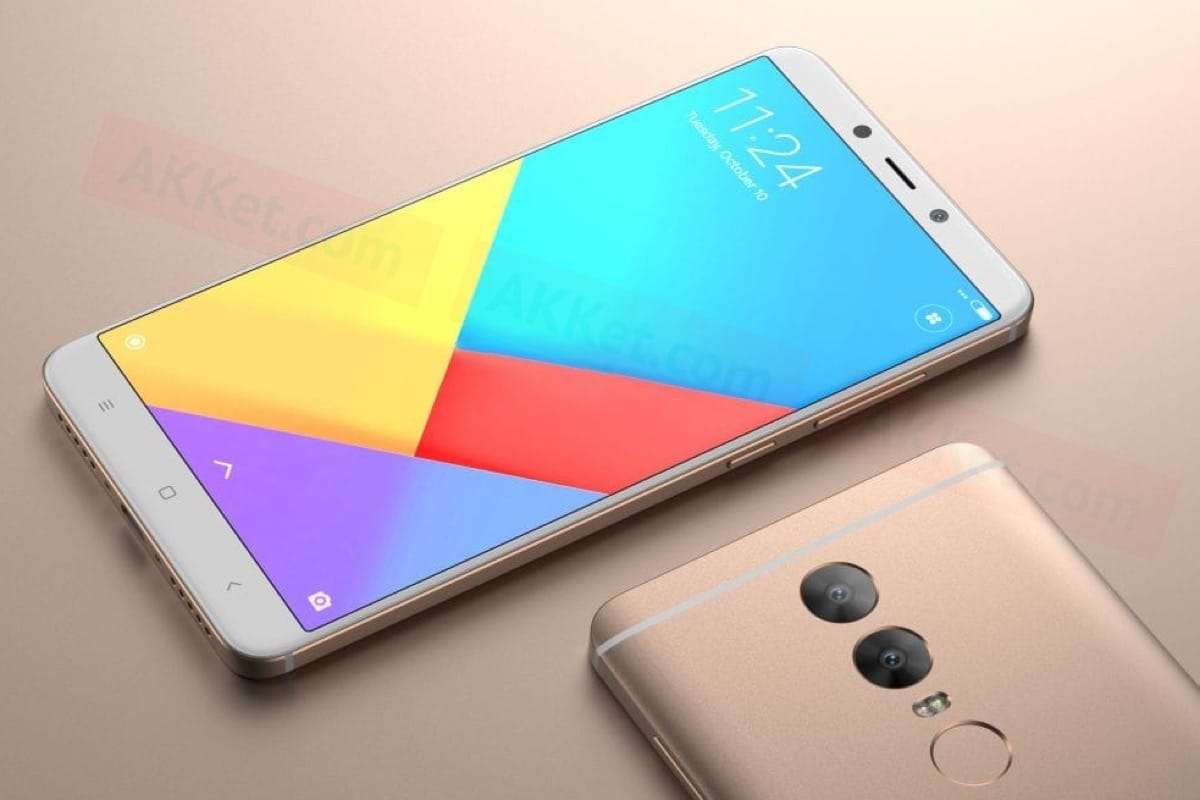 Безрамочный Xiaomi Redmi Note 5 показался на фотографии