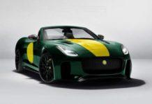 Lister представила мощный родстер на базе Jaguar F-Type