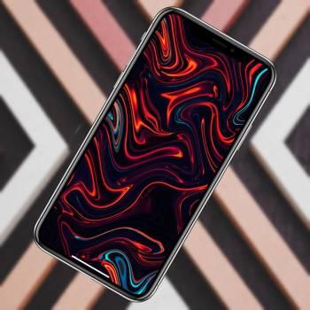 10 необычных абстрактных обоев iPhone. Качаем