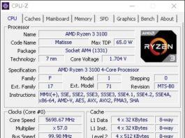 Бюджетные модели AMD Matisse отличились в разгоне на частотах около 5.7 ГГц